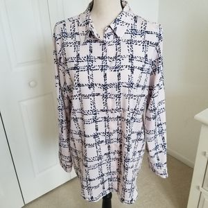Karl Lagerfeld Polyester Pale Pink Blouse …
